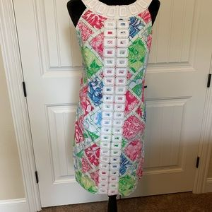 Lilly Pulitzer sundress.